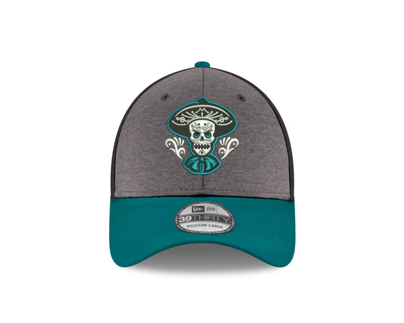 Albuquerque Isotopes Hat-Mariachis 3930 Shadow/Blk/Teal