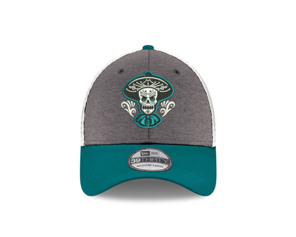 Albuquerque Isotopes Hat-Mariachis 3930 Shadow/Wht/Teal