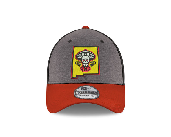 Albuquerque Isotopes Hat-Mariachis 3930 Shadow/Blk/Red