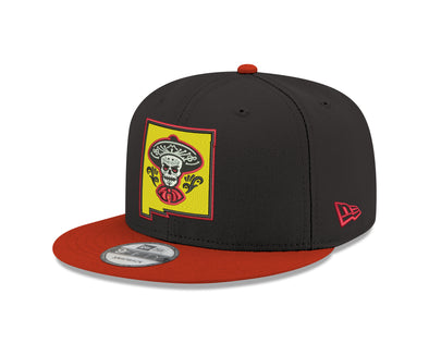Albuquerque Isotopes Hat-Mariachis 950 Black/Red Sleeve