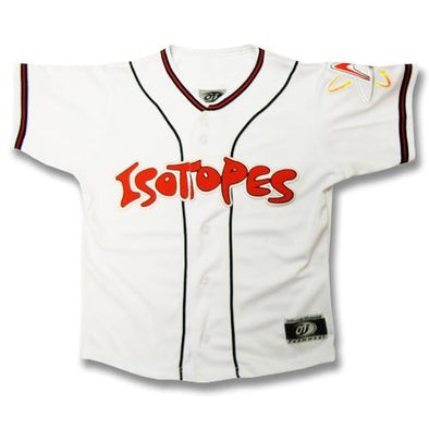Albuquerque Isotopes Jersey-Yth White Replica