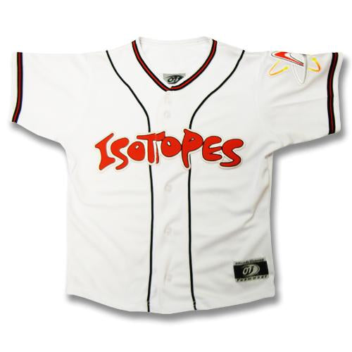 Albuquerque Isotopes Jersey-White Replica