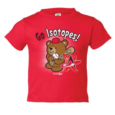 Albuquerque Isotopes Tee-Inf Plush