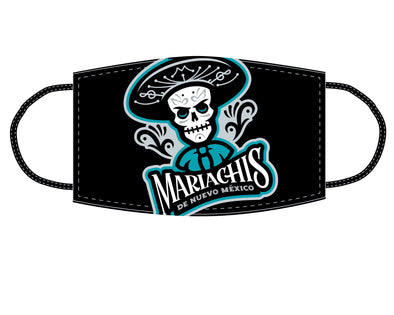 Albuquerque Isotopes Face Mask-Mariachis Black