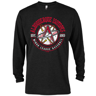 Albuquerque Isotopes Tee-Hard L/S