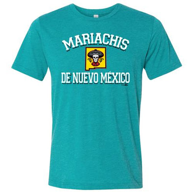 Albuquerque Isotopes Tee-Mariachis Brynner Teal