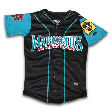 Albuquerque Isotopes Jersey-Mariachis Black/Teal