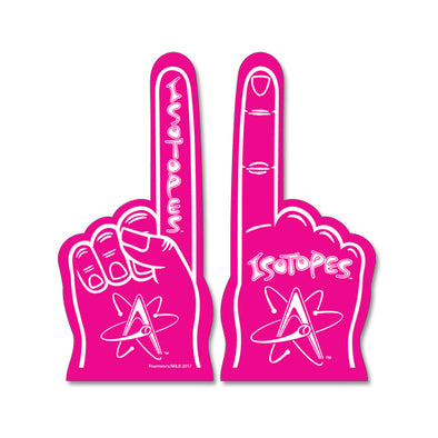 Albuquerque Isotopes Foam-Hand Pink