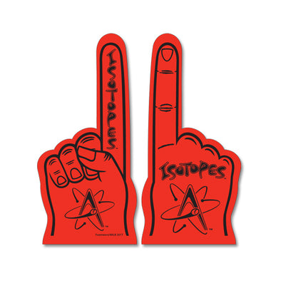 Albuquerque Isotopes Foam-Hand Red