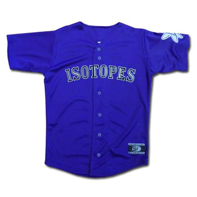 Albuquerque Isotopes Jersey-Purple Replica