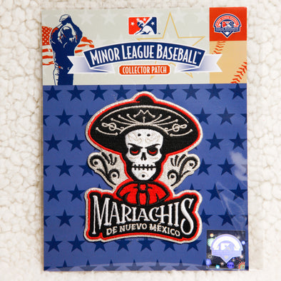 Albuquerque Isotopes Patch-Mariachis Red Primary