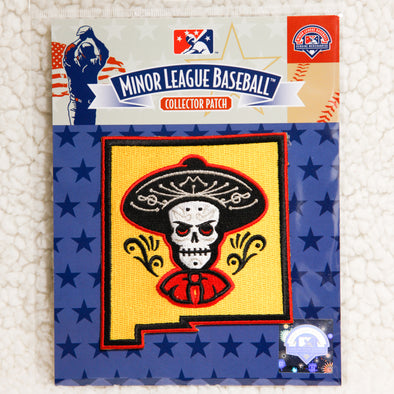 Albuquerque Isotopes Patch-Mariachis Sleeve Logo