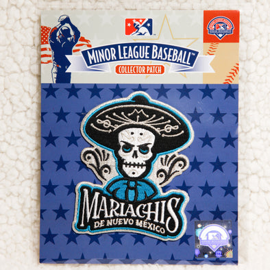 Albuquerque Isotopes Patch-Mariachis Copa Teal Primary