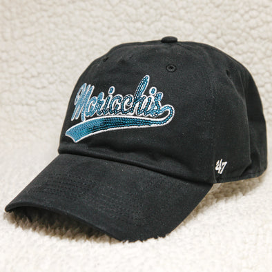 Albuquerque Isotopes Hat-Wmn Mariachis Sparkle Swoop