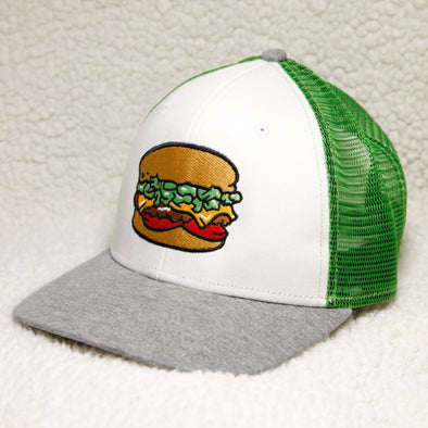 Albuquerque Isotopes Hat-Green Chile Cheeseburgers Trucker