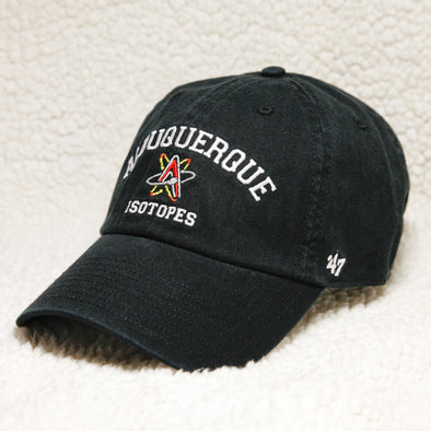 Albuquerque Isotopes Hat-Original Black
