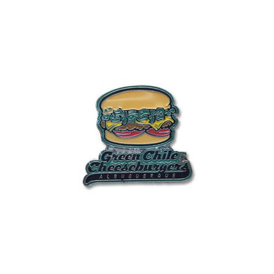 Albuquerque Isotopes Lapel Pin-Green Chile Cheeseburgers