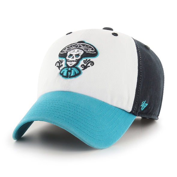Albuquerque Isotopes Hat-Mariachis Clean Up Teal Rep