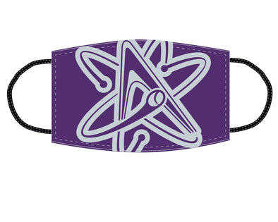 Albuquerque Isotopes Face Mask-Purple