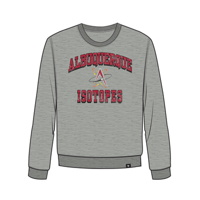 Albuquerque Isotopes Sweatshirt-Grounder Crew