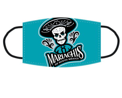 Albuquerque Isotopes Face Mask-Mariachis Teal