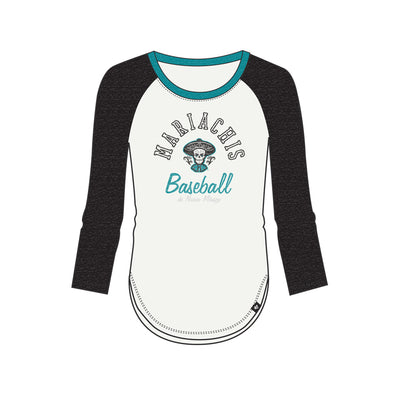 Albuquerque Isotopes Tee-Wmn Mariachis Splitter Teal