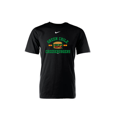 Albuquerque Isotopes Tee-Green Chile Cheeseburgers Yth Core Black 132