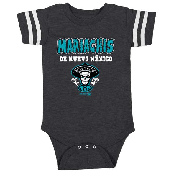 Albuquerque Isotopes Onesie-Inf Mariachis Throughout