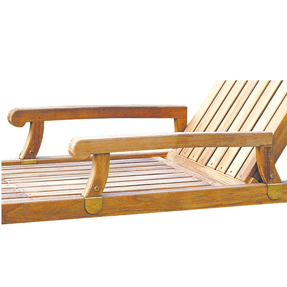 Nantucket Chaise Arms