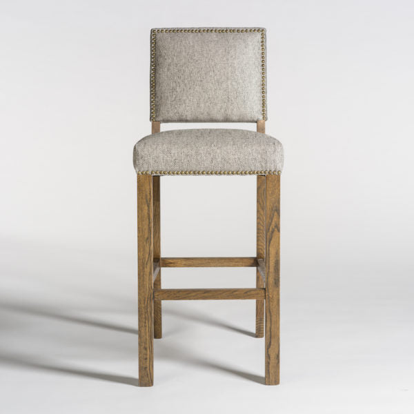 Weston Bar Stool in Diamond Pepper