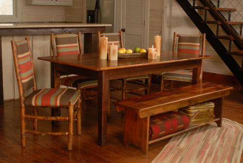 Reclaimed Pine Farm Table - 3 Board