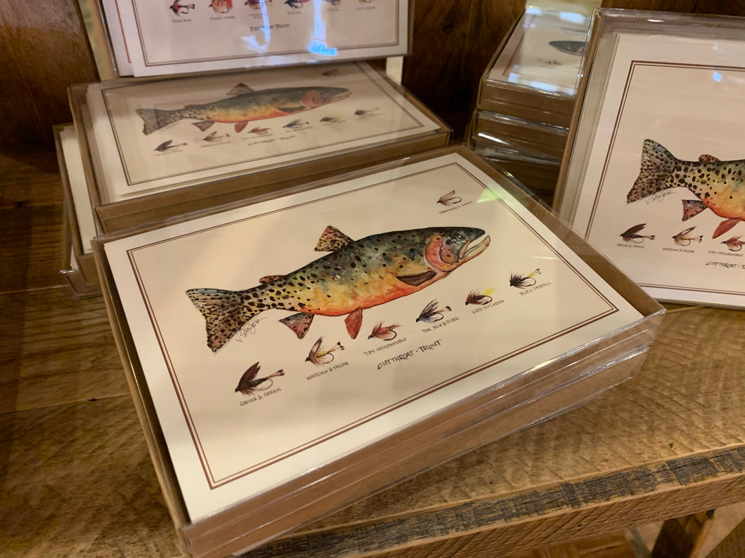 Set of Fish Note Cards by Vaughn Spanjer