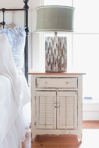 Shutter Bedside Table