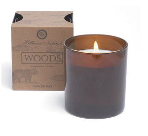 Woods Candle Glass