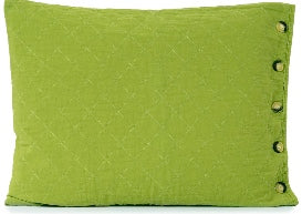 Utility Canvas Quilted Pillow Shams