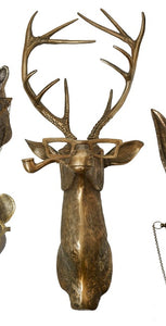 Frankie Wall Mount Golden Deer