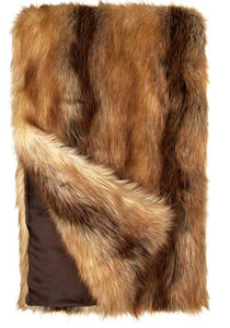 Fabulous Furs Couture Throw
