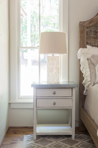 Galvalume Bedside Table
