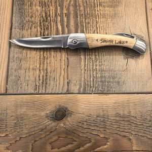 Custom Stainless Pocket Knife
