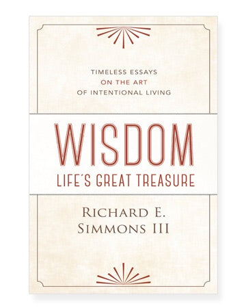 "Richard Simmon's ""Wisdom: Life's Great Treasure"""