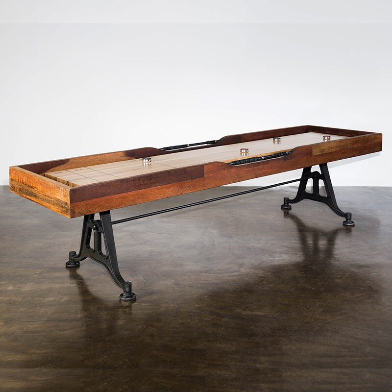 9' Reclaimed Shuffleboard Table