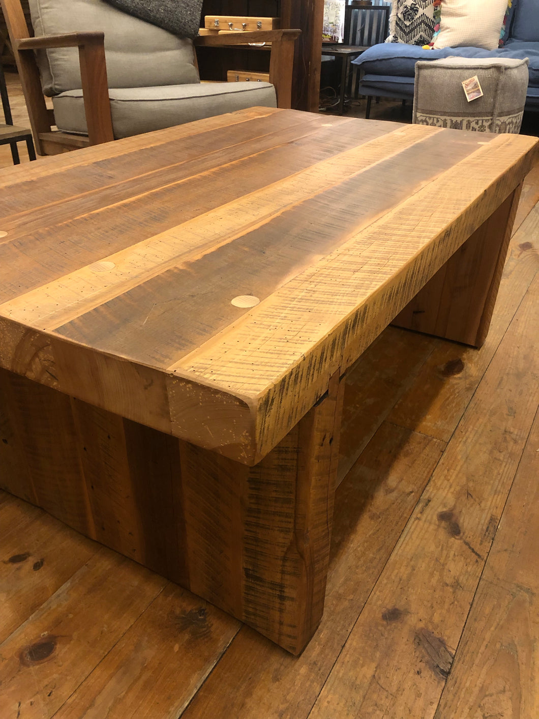 Old Hickory Timber Coffee Table