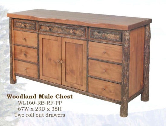 Woodlands Mule Chest by Old Hickory