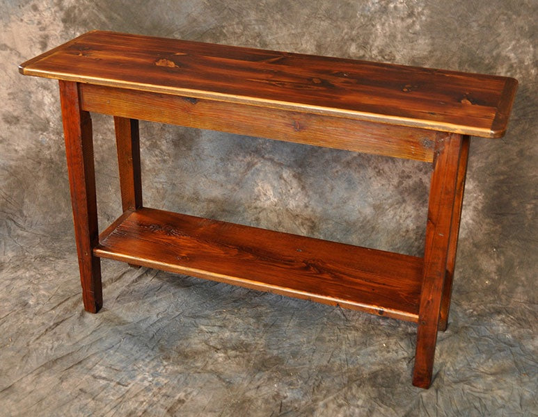 Reclaimed Pine Sofa Table