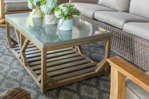 Custom Galvalume Coffee Table