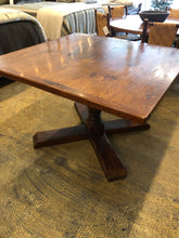 "Reclaimed Pine 48"" Square 2"" Dining Table"