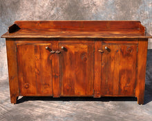 Reclaimed Pine 3 Door Sideboard 72L 21D 41H (36H Surface)