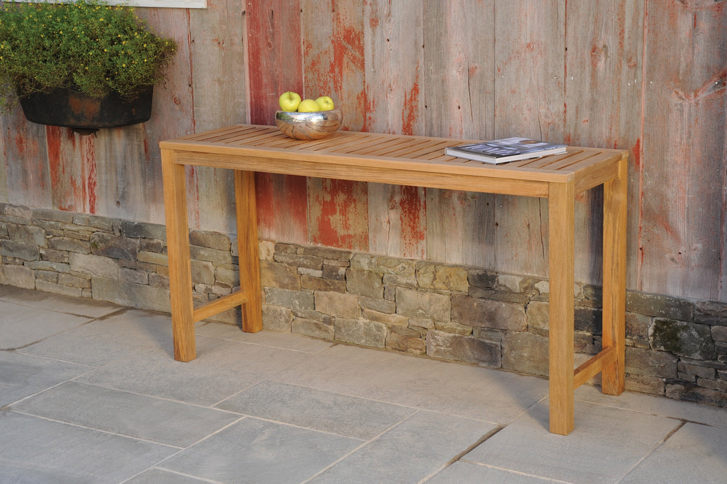 Classic Teak Console Table