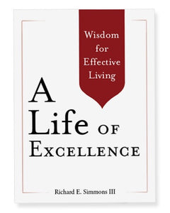 "Richard Simmons' ""A Life of Excellence"" Wisdom for Effective Living"""