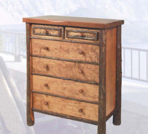 Woodlands 5 Drawer Chest by Old Hickory